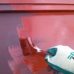【カンタンDIY】 家のトタン屋根をさび止めペンキで塗ろう!②