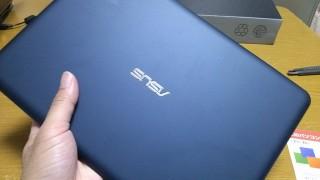 Eeebook X205TAがアマゾンから到着!最初のレビュー①