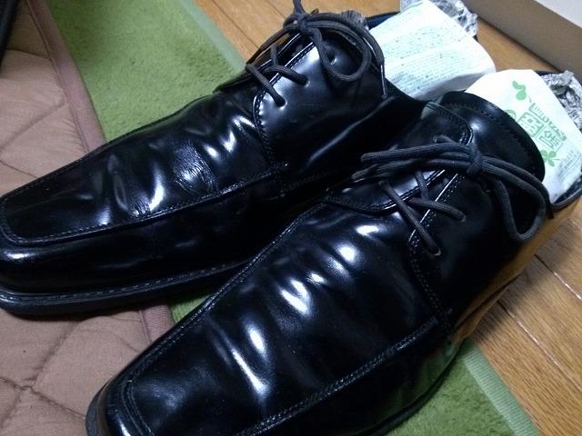 革靴 シワ 伸ばし方