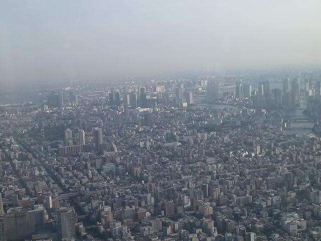 東京スカイツリー 大パノラマ