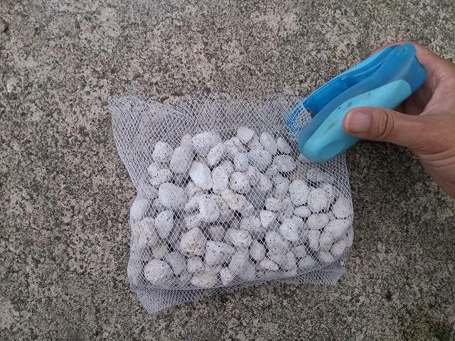 枝豆プランター 鉢底石