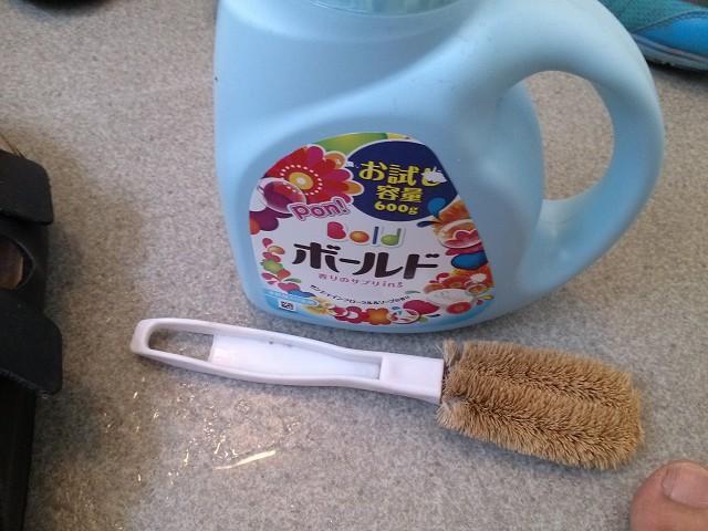 ビルケンシュトック 清掃