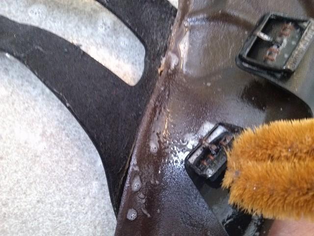 ビルケンシュトック 洗う