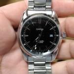 これって修理?腕時計のオメガシーマスターの秒針が遅れる症状