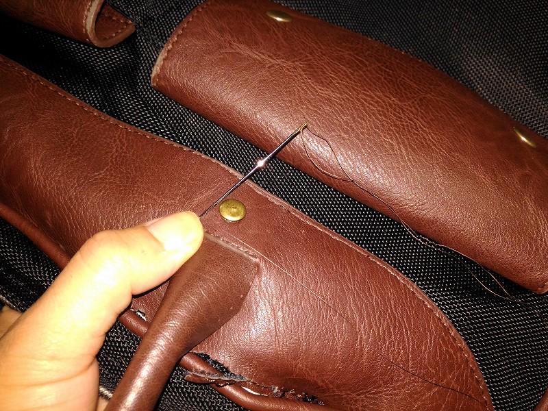 補強 縫う