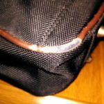 ビジネスバッグのふち(パイピング)修理方法をまとめます