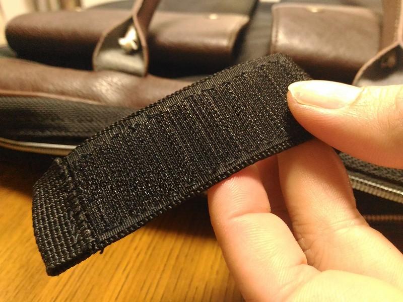 マジックテープ 縫う 完成