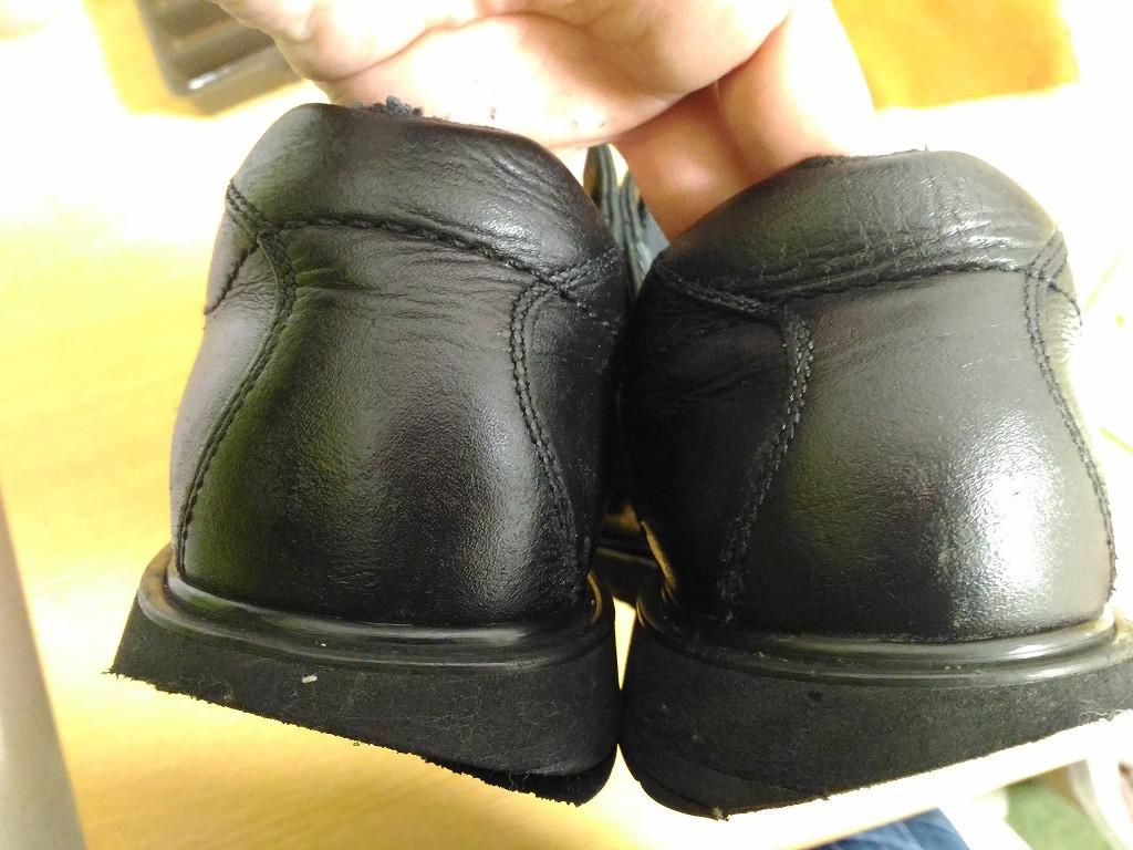 革靴 補色 完成その2