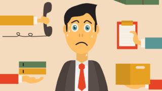 課長が感じる7つのストレスと解決方法・解消方法まとめ